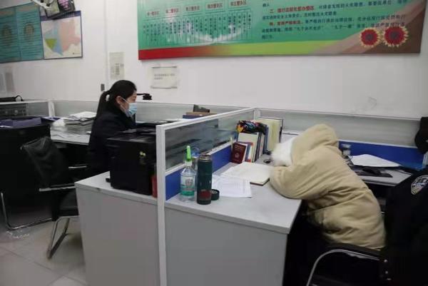 郑州聊吧-小年夜,漯河民警坚守岗位一线,局领导:命令你马上休息(1)