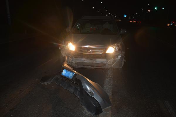 郑州聊吧-醉得不轻!男子醉驾撞车逃逸,途中再次撞车被抓(2)