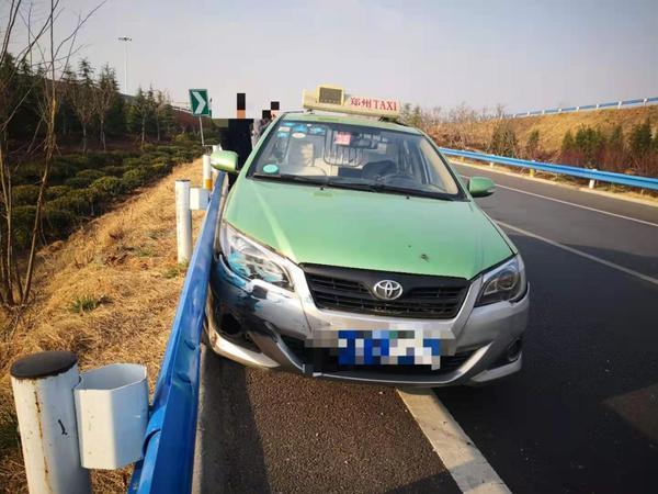 郑州聊吧-出租车匝道内突然180度调头,什么原因?(1)