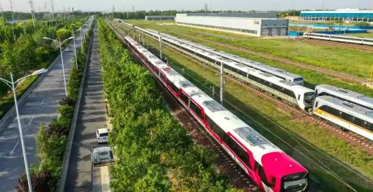 郑州聊吧-郑州地铁6号线来了,郑州荥阳第一辆地铁发车啦!(2)